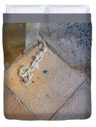 Abandoned Fishing Knot Duvet Cover