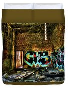 Abandoned, Hdr Duvet Cover