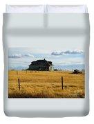 Abandoned Homestead Saskatchewan Duvet Cover