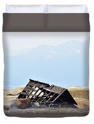 Abandoned In A Sea Of Mining Tailings Duvet Cover