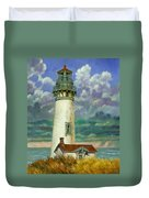 Abandoned Lighthouse Duvet Cover