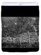 Abandoned Minorcan Country Gate Duvet Cover