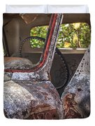 Abandoned Old Truck Newport New Hampshire Duvet Cover