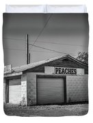 Abandoned Peach Stand Duvet Cover