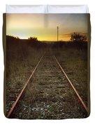 Abandoned Railway Duvet Cover