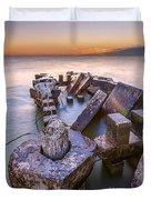 Abandoned Rise Duvet Cover