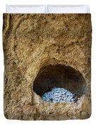 Abandoned Royal Cell Duvet Cover