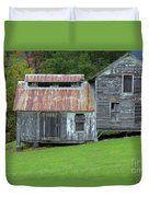 Abandoned Shack By The Road Duvet Cover