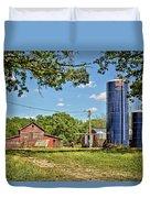 Abandoned Spring Farm Duvet Cover