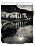 Abandoned Swimming Pool Duvet Cover