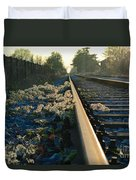 Abandoned Tracks Duvet Cover