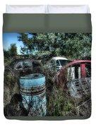 Abandoned Vehicles - Veicoli Abbandonati  1 Duvet Cover