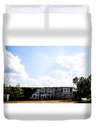 Abandonment Row Duvet Cover