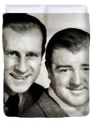 Abbott And Costello Duvet Cover