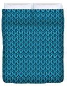 Abby Damask In Black Pattern 18-p0113 Duvet Cover