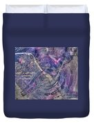 Abcollage Duvet Cover