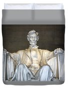 Abe Down To His Knees Duvet Cover
