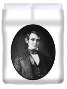 Abe Lincoln As A Young Man  Duvet Cover