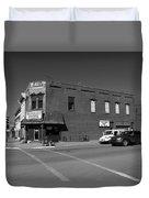 Abilene, Kansas - Cedar And 3rd II Duvet Cover