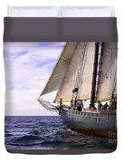 Aboard The Adventurer Duvet Cover