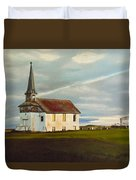 Abondoned Church Duvet Cover