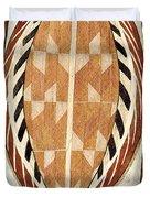 Aboriginal Bark Painting  Duvet Cover