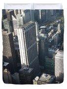 Above Chicago 2 Duvet Cover