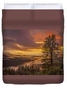Above It All Duvet Cover