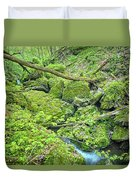 Above Moine Creek Duvet Cover