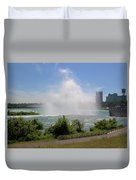 Above The Falls 3 Duvet Cover