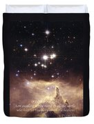 Above The Heavens Duvet Cover