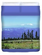 Above The Smoke Duvet Cover