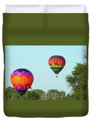Above The Trees Duvet Cover