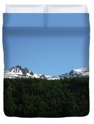 Above The Treetops Duvet Cover