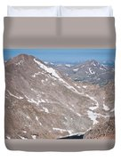Above Treeline Duvet Cover