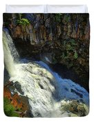 Above Undine Falls Duvet Cover