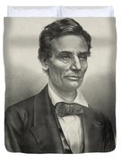 Abraham Lincoln - As A Presidential Candidate Duvet Cover