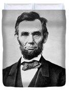 Abraham Lincoln -  Portrait Duvet Cover by International  Images