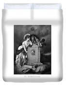 Abraham Lincoln In Memoriam  Duvet Cover