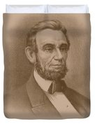 Abraham Lincoln - Savior Of His Country Duvet Cover