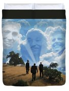 Abraham Martin And John Duvet Cover