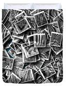 Abraxas Collage Duvet Cover by Visual Artist Frank Bonilla
