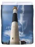 Absecon Lighthouse 2 - Atlantic City Duvet Cover