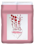 Absolution Of Amour Duvet Cover