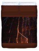 Abstarct Fireworks  Duvet Cover