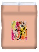 Abstract 058 Duvet Cover