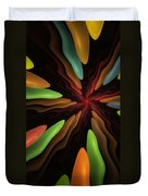 Abstract 080610 Duvet Cover