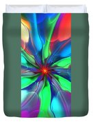 Abstract 080610c Duvet Cover