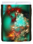 Abstract 090710b Duvet Cover