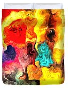 Abstract 103 Duvet Cover